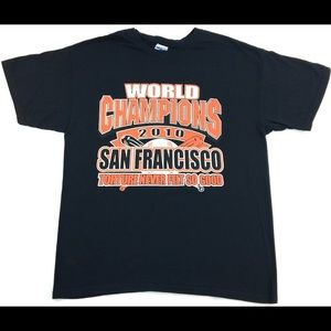 2010 MLB San Francisco Giants World Champions